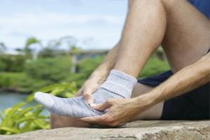 Лечение растяжения связок голеностопа