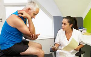 Лечение артроза локтевого сустава методом УВТ
