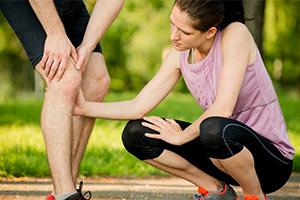 Комплексное лечение синовита колена