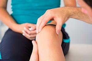Перелом чашечки колена