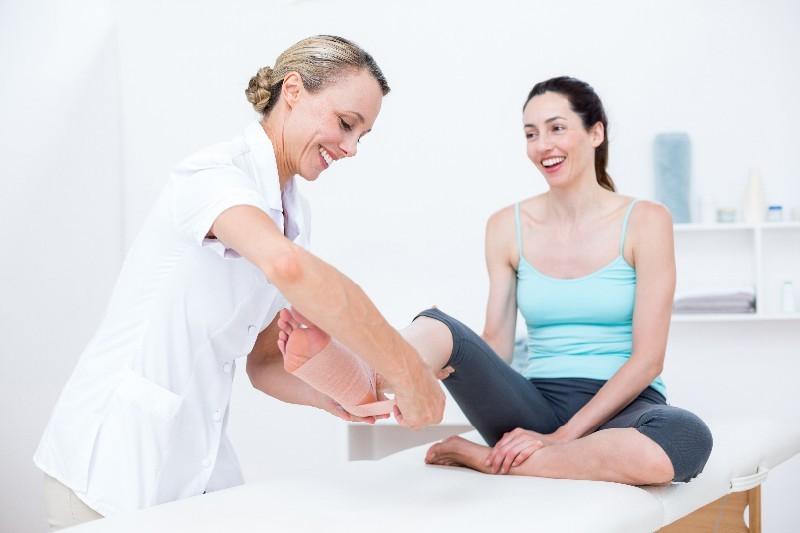 Воспаление мягких тканей ноги