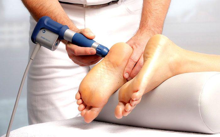 Артроз стопы лечение методом УВТ