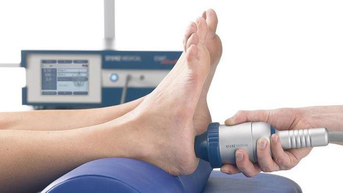 пяточная шпора лечение ультразвуковой терапией