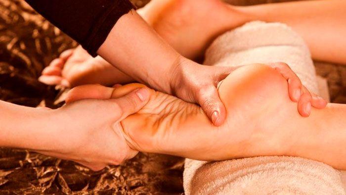 массаж при пяточной шпоре