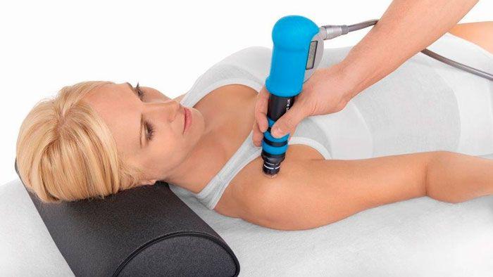 УВТ лечении тендинита плечевого сустава