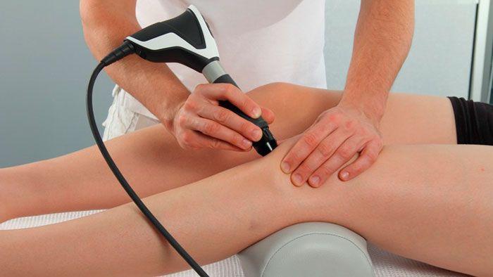 Ударно-волновая терапия при болезни Шляттера